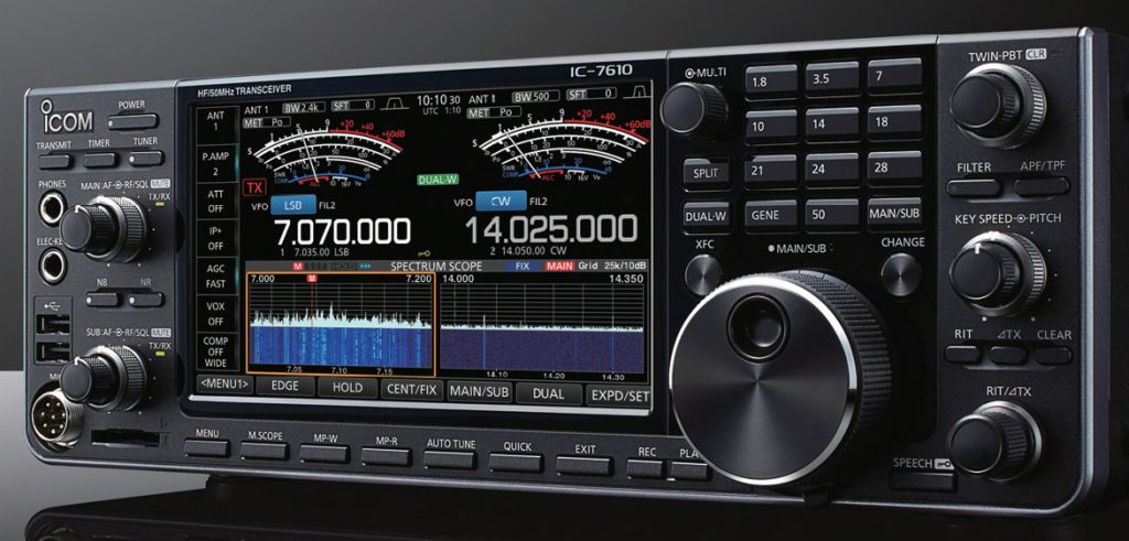 Icom Ic7610 technology SDR